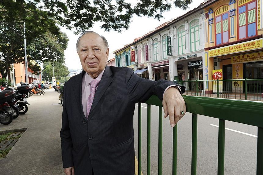 On Monday, Dr Hari N. Harilela, patriarch of the Hong Kong-based clan, died in the southern Chinese city at the age of 92.-- PHOTO: ST FILE