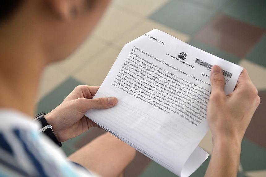 Student Kelvin Ong, who fell victim to a scam that rode on the popularity of the Productivity and Innovation Credit scheme, has lodged a police report. As at Oct 31, the taxman has conducted investigations into 343 PIC claims.