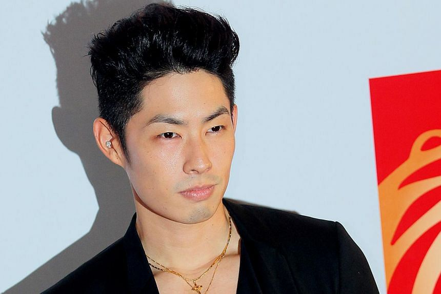 Taiwan's actor-singer Van Ness Wu at Shaw's Lido cineplex on June 11, 2011 for the gala premiere of Larry Crowne. -- PHOTO: ST FILE