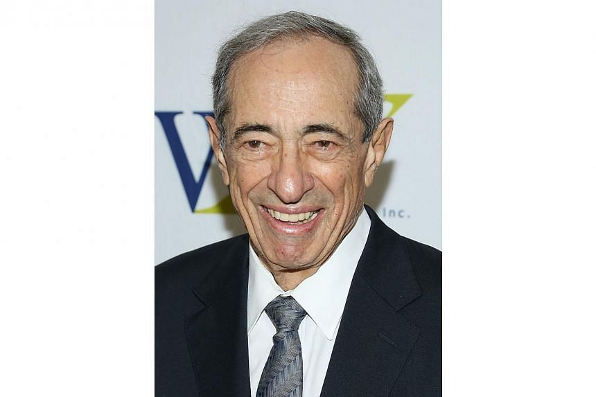 Former New York governor Mario Cuomo at the 3rd Annual Elly Awards Luncheon in New York City on June 25, 2013. Mr Cuomo died on Jan 1, 2015, at age 82. -- PHOTO: AFP