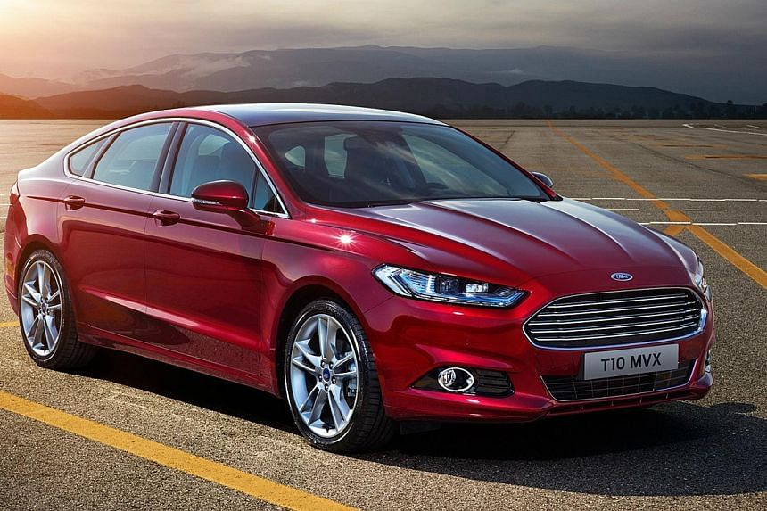Ford's Mustang (above), S-Max and Mondeo. -- PHOTO: FORD