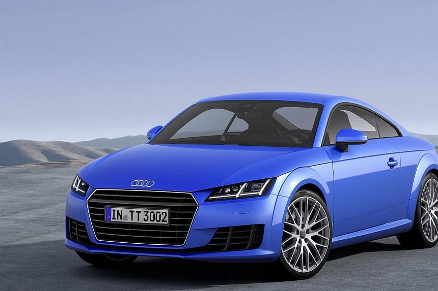 Audi's TT Coupe (above) and Q7. -- PHOTO: AUDI