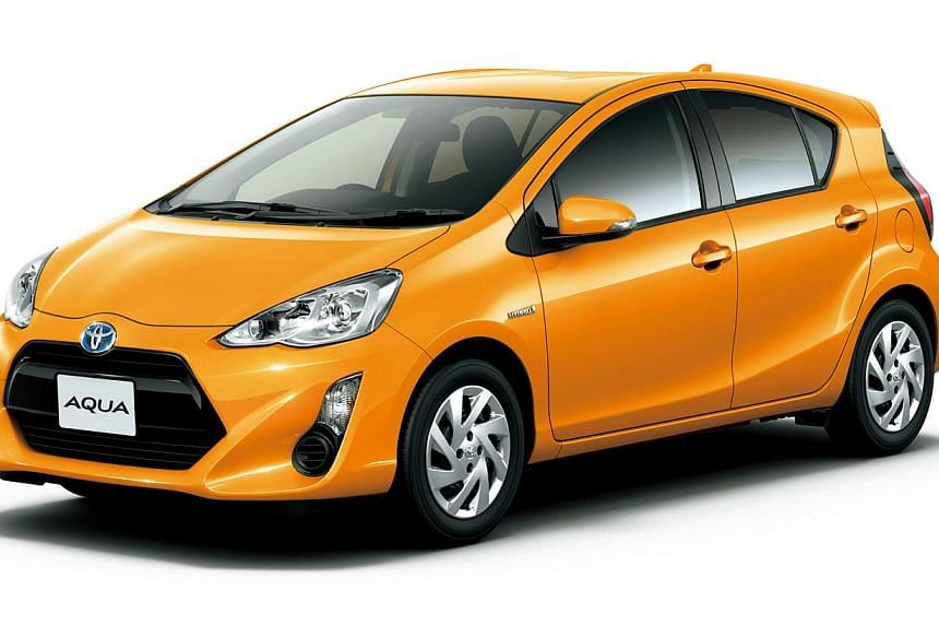 Toyota's Camry (left) and Prius C (above).