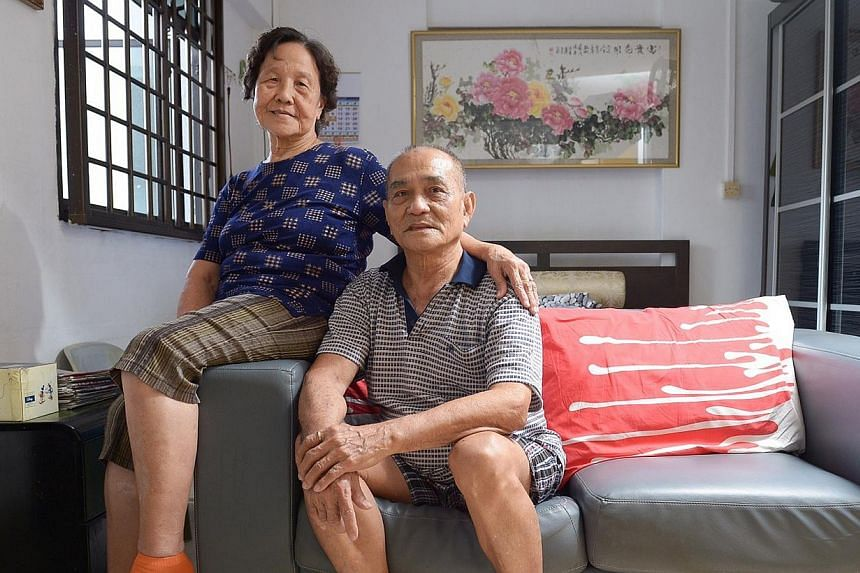 Mr Poh Khuat, 75, and his wife, Madam Kang Ngo Hwee, 77, say the enhanced medication subsidies will help keep their expenses down.
