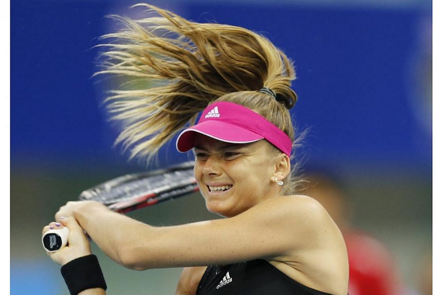Daniela Hantuchova shook off a torrid 2014 that saw her year-end ranking drop to its lowest point since 2002 with a demolition of second seed Sara Errani in the Auckland Classic first round on Monday. -- PHOTO: REUTERS