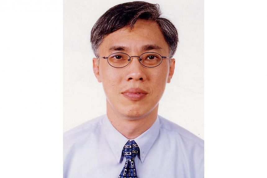 Mr Vincent Hoong Seng Lei graduated from the National University of Singapore in 1982 with a Bachelor of Laws. -- PHOTO: MINISTRY OF LAW