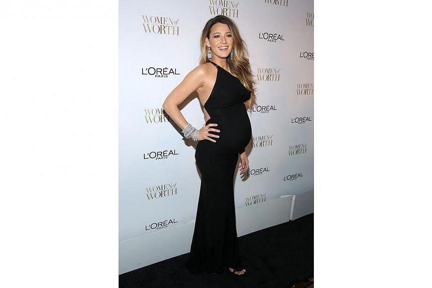 Actress Blake Lively attends L'Oreal Paris' Ninth Annual Women Of Worth Celebration at The Pierre Hotel on Dec 2, 2014 in New York City. -- PHOTO: AFP