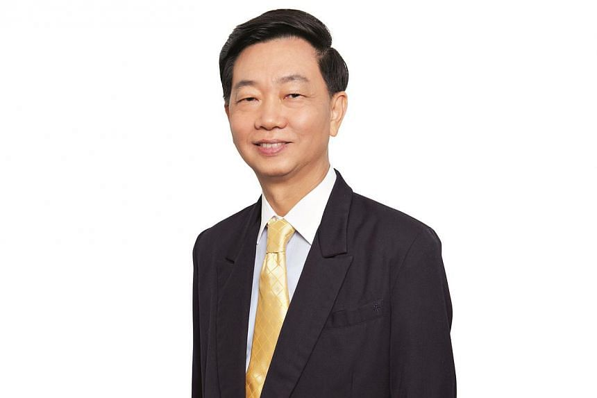 Professor Chee Yam Cheng, who currently helms the National Healthcare Group (NHG), will step down on Saturday. -- PHOTO: NATIONAL HEALTHCARE GROUP