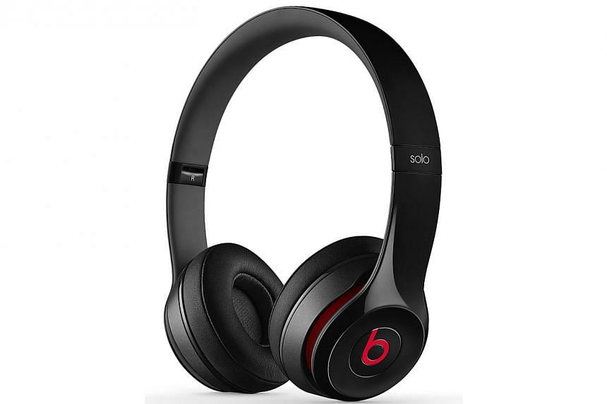 """Beats by Dr Dre Solo2 Headphones. Audio equipment maker Monster has sued Beats Electronics over alleged """"fraud and deceit"""" in the way that Beats acquired control of the rights to the popular headphones. -- PHOTO: BEATS"""
