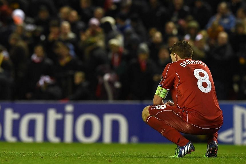 Liverpool captain Steven Gerrard has said he would have agreed to stay at the English Premier League club if he had been offered a new contract in the close season. -- PHOTO: AFP