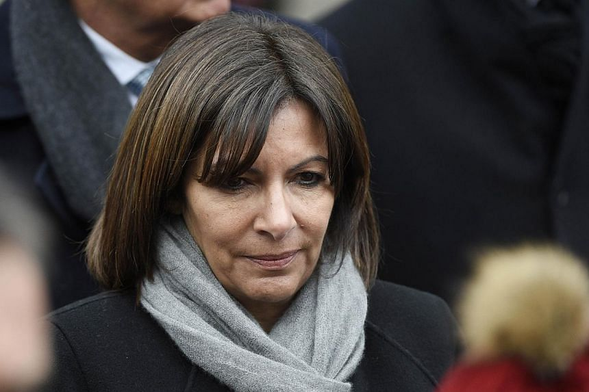 "The Mayor of Paris Anne Hidalgo leaves after attending the funeral ceremony for French journalist Jacques Chancel at the Saint-Germain-des-Pres church in Paris on Jan 6, 2015. Paris mayor Anne Hidalgo has expressed her ""feeling of absolute horro"