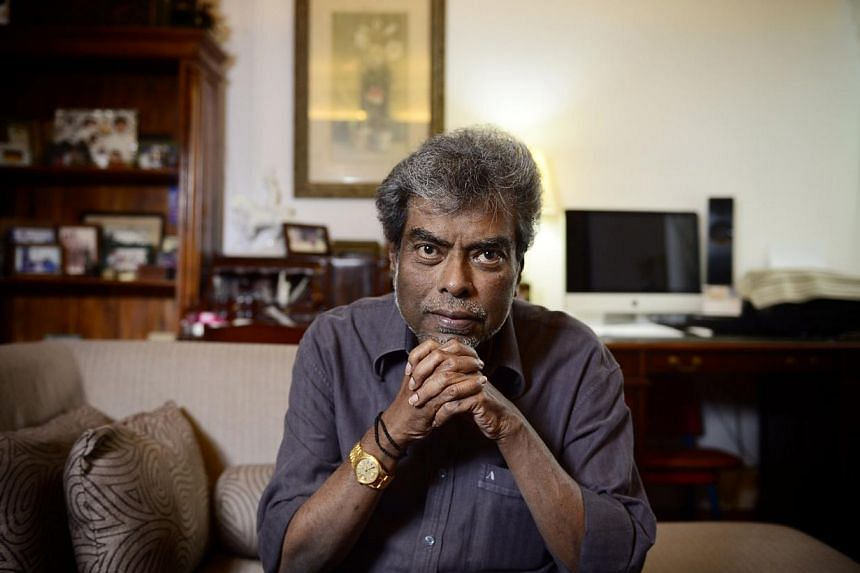 Criminal lawyer Subhas Anandan, 67, died in Singapore General Hospital on Wednesday morning. -- PHOTO: ST FILE
