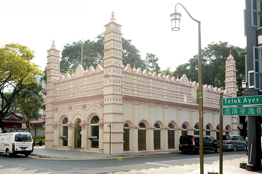 Nagore Dargah Indian Muslim Heritage Centre is located at the site of the Nagore Dargah shrine, which was built between 1828 and 1830 by early immigrants from South India. -- PHOTO: ST FILE