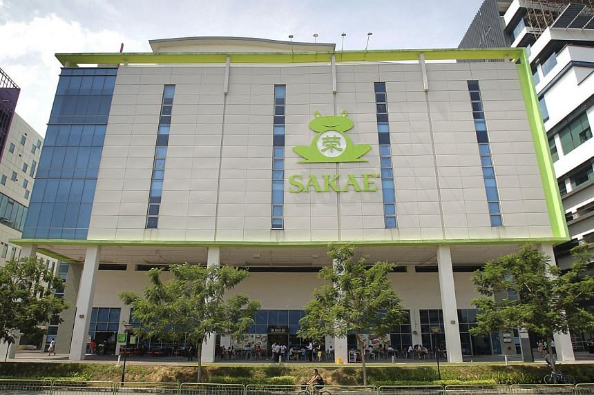 Sakae Holdings' subsidiary has clinched its first corporate advisory client. -- PHOTO: ST FILE