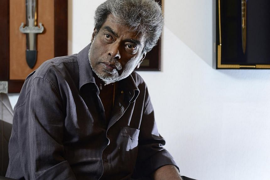 Criminal lawyer Subhas Anandan, 67, died in Singapore General Hospital on Wednesday morning.-- ST PHOTO: DESMOND LIM