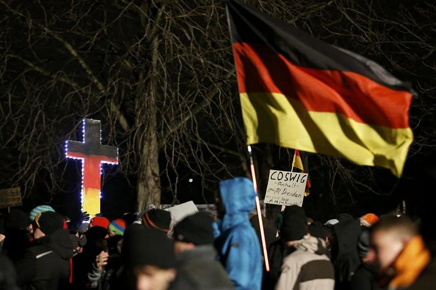 A large and growing majority of Germans believe Islam does not belong in the Western world and more than half see it as a threat, a poll published on Thursday showed. -- PHOTO: REUTERS