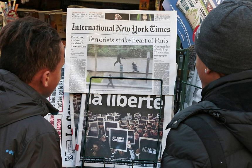 Iran's newspapers said on Thursday, Jan 8, 2015, that France will need to review its policy towards the Middle East and the Muslim world, in light of the attack on the offices of satirical weekly magazine Charlie Hebdo on Wednesday. The Islamic repub