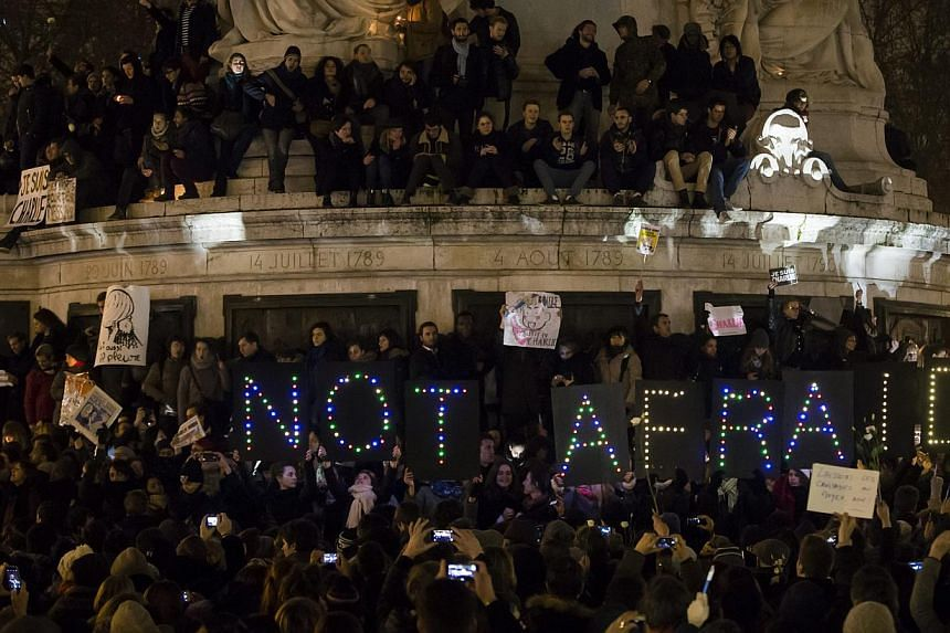 Thousands gather for a vigil in central Paris hours after the attack on the office of the satirical magazine Charlie Hebdo on Wednesday. It is crucial that societies and governments alike appreciate that diversity is a reality that we cannot ever hop