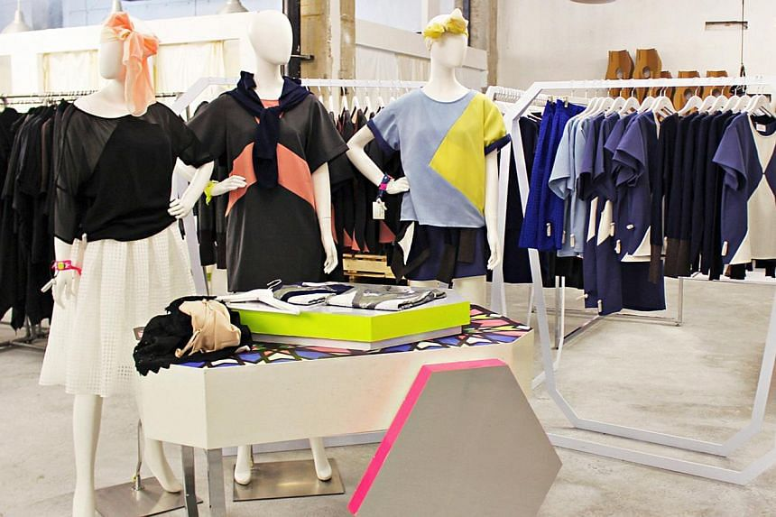 A retail experiment (above) featuring edgy fashion items and accessories. -- PHOTO: WORKSHOP ELEMENT