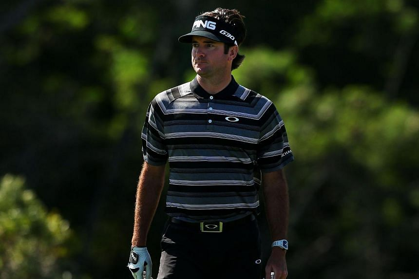 Reigning Masters champion Bubba Watson (above) tops a field of 34 players at this week's US PGA Tournament of Champions in the first event of 2015 after a seven-week holiday break. -- PHOTO: AFP