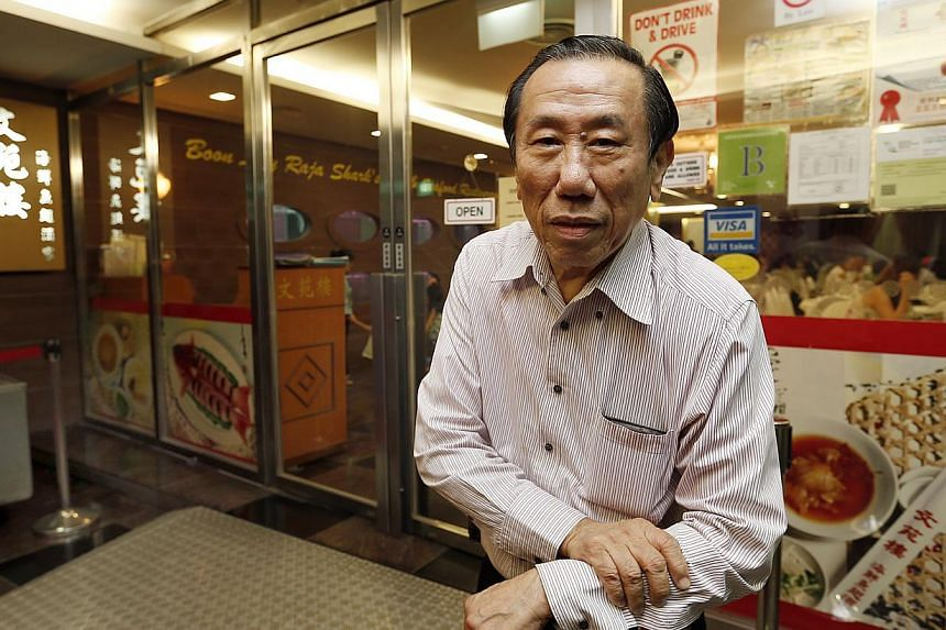Mr Henry Tan Kweng Nam, managing director of Boon Lay Raja Restaurant. -- ST PHOTO:LAU FOOK KONG