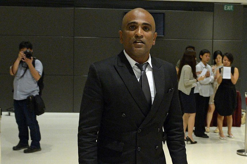 "Activist lawyer M. Ravi has been fined $7,000 by the council of the Law Society of Singapore ""for misconduct unbefitting an advocate and solicitor as a member of an honorable profession"". -- PHOTO: ST FILE"