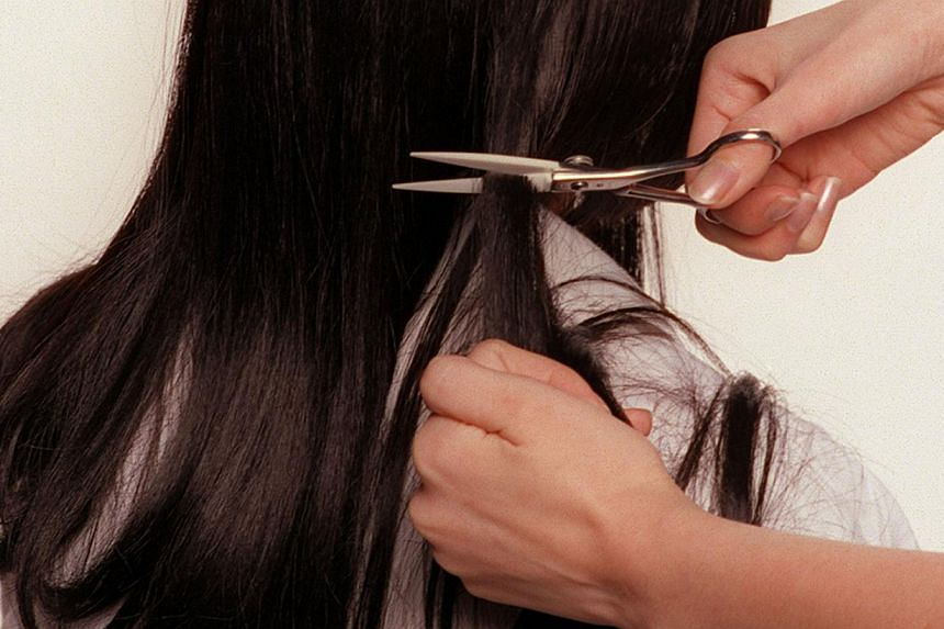 Female recruits to the US will be allowed to keep their hair long as part of an experiment. --PHOTO: ST FILE