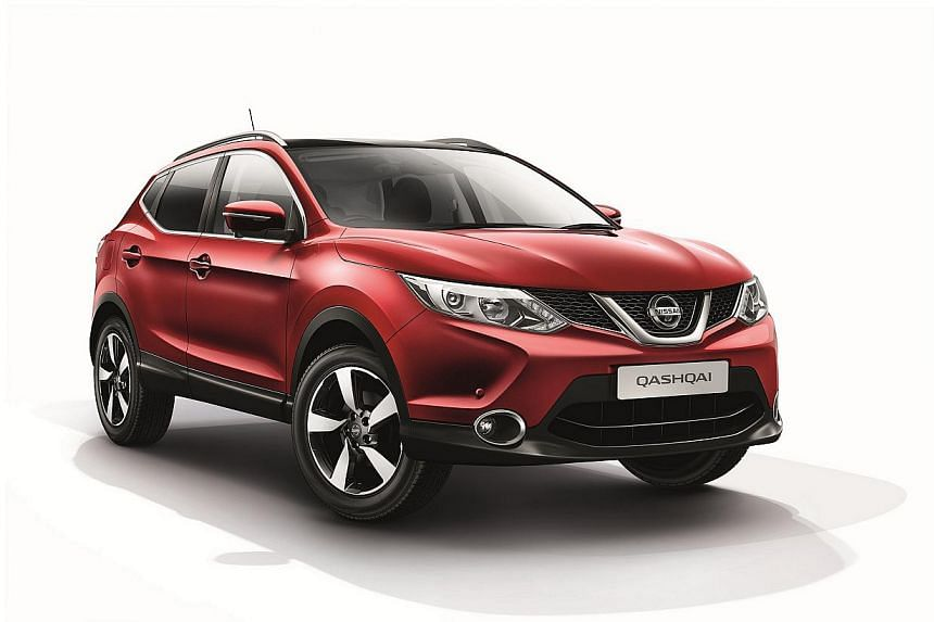 (From top) The Nissan Qashqai 1.2, Honda HR-V, Honda Mobilio and Peugeot 308 passed the chassis dynamometer test, which ensures cars in Cat A do not exceed 130bhp.