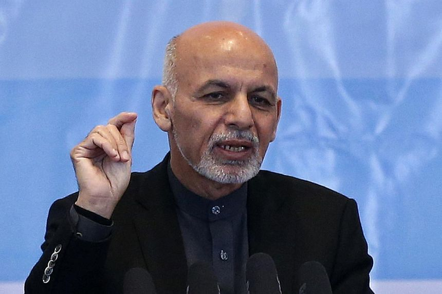 Afghan President Ashraf Ghani nominated ministers for his new Cabinet on Monday, after a wait of more than three months, to try to establish a working government to tackle the violence-racked country's problems. -- PHOTO: REUTERS