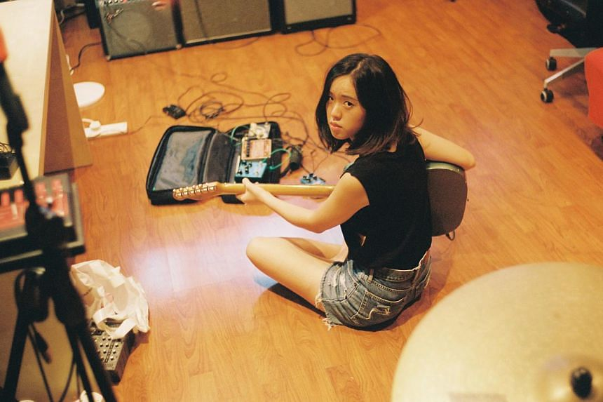 Cherie Ko performed acoustic covers of her favourite songs on YouTube from 2005. -- PHOTO: COURTESY OF JUFFRIE FRIDAY