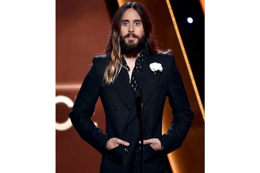 """Oscar-winning actor Jared Leto also paid a moving tribute at the awards ceremony, even speaking French. """"To our brothers, sisters, friends, and family in France, our thoughts, our prayers, our hearts are with you tonight. On vous aime. Je suis Charli"""