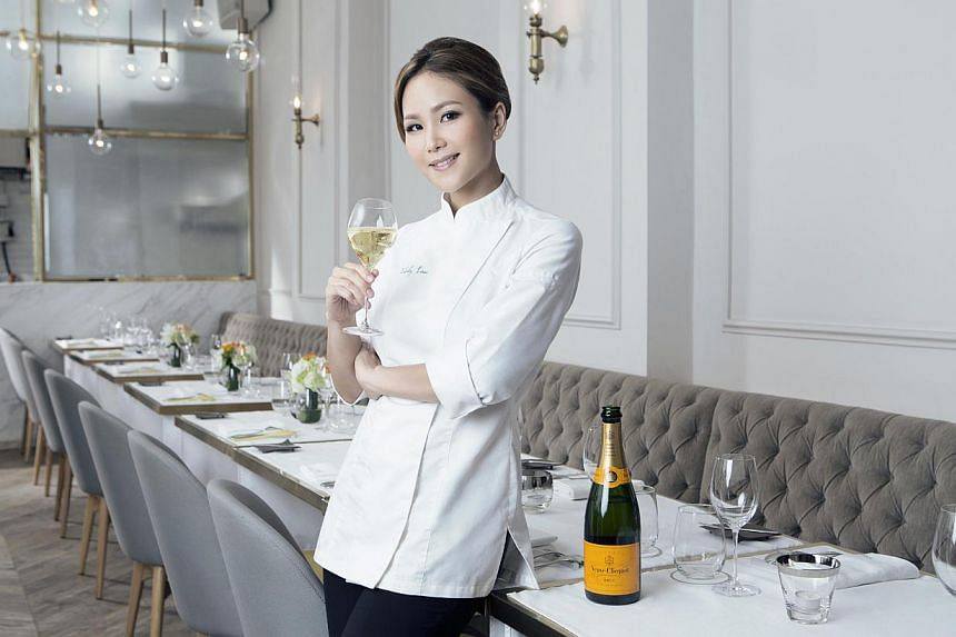 Hong Konger Vicky Lau, who made a career switch from graphic designer to chef, was named Asia's Best Female Chef as part of the Asia's 50 Best Restaurants Awards, organised by William Reed Business Media.  -- PHOTO: ASIA'S 50 BEST RE
