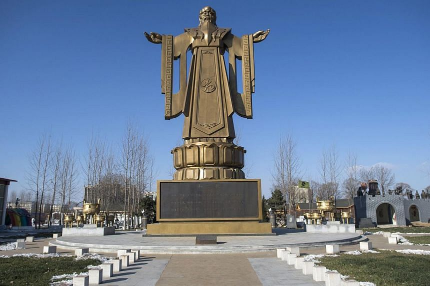 Confucius The Redeemer Symbol Of Xis Chinese Dream East Asia News