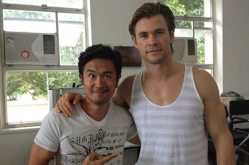 Adrian Pang Is In A Movie With Thor Entertainment News Top Stories The Straits Times