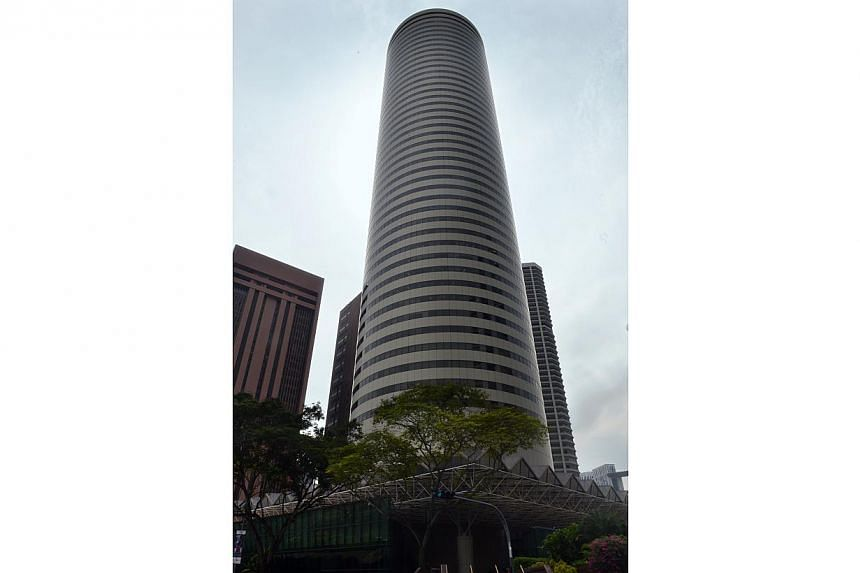Perennial Real Estate says it is eyeing a 30 per cent stake in AXA Tower. -- PHOTO: THE BUSINESS TIMES