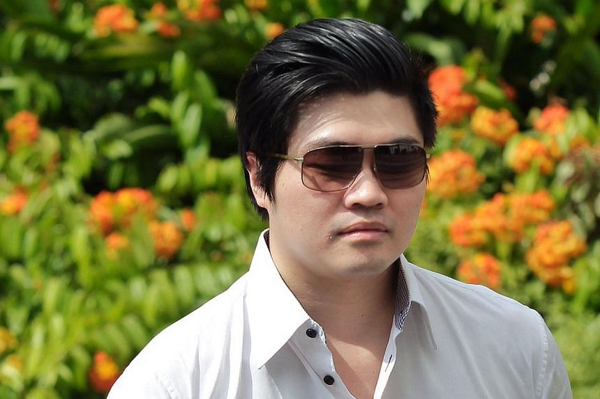 Eric Ding Si Yang was sentenced in July last year by a district court for providing three Lebanese football officials with prostitutes as bribes for fixing future matches. -- PHOTO: ST FILE