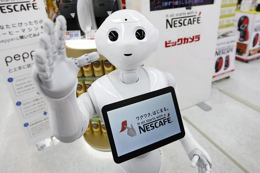 Nestle uses robots to help sell its coffee makers at electronic stores across Japan. The challenge facing states today is that the bulk of new technologies are labour-saving. They entail the replacement of low- and medium-skilled workers with machine