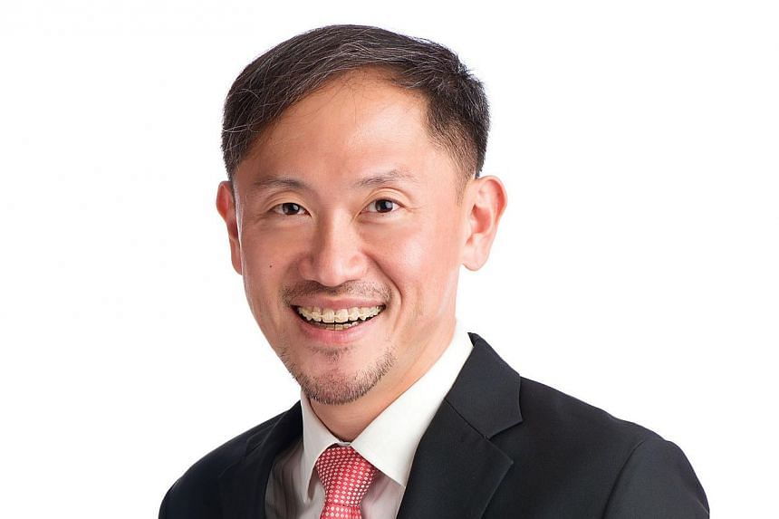 Mr Tan, 41, who was Deputy Secretary (Policy) with the Ministry of Health, takes over from Mr Lim Jim Koon, 65, who will retire after 38 years with the media group. -- PHOTO: SPH