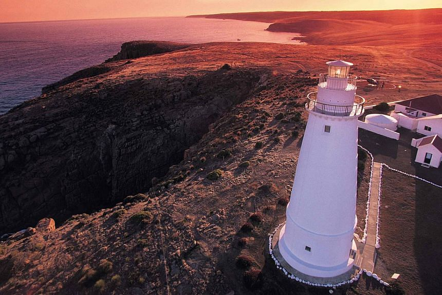 Visit and stay at Cape Willoughby lighthouse (above), one of three on Kangaroo Island in South Australia, or Smoky Cape Lighthouse on the east coast, one of the tallest in the country.--PHOTO: SOUTH AUSTRALIAN TOURISM