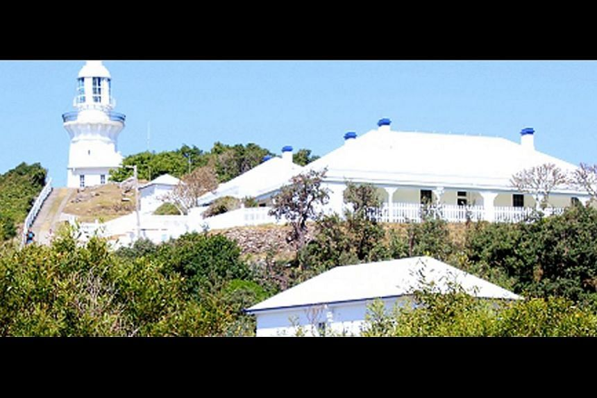 Visit and stay at Cape Willoughby lighthouse, one of three on Kangaroo Island in South Australia, or Smoky Cape Lighthouse (above) on the east coast, one of the tallest in the country.--PHOTO: SMOKY CAPE LIGHTHOUSE