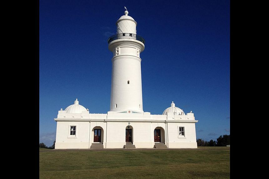 Australia's first lighthouse, at Sydney's South Head, was finished in 1818 and is now a landmark for visitors to the city's coastal walkway.--PHOTO: JONATHANPEARLMAN