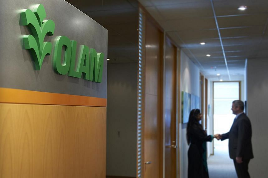 Olam's Singapore office. Mainboard-listed Olam International, one of the world's top coffee traders, will pay US$3 million to settle US regulatory claims that it breached limits on speculation in cocoa derivatives. -- PHOTO: OLAM INTERNATIONAL