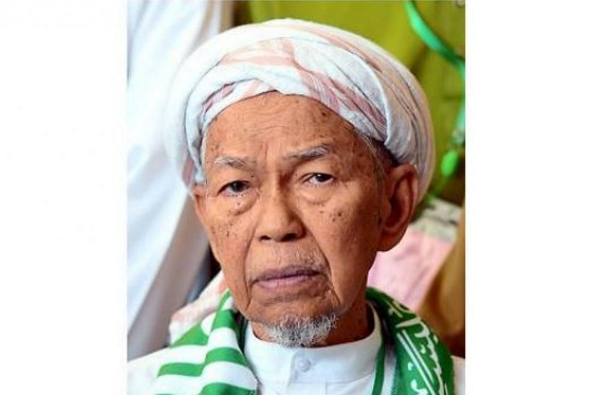 The spiritual leader of Malaysia's opposition PAS, Nik Aziz Nik Mat, has regained consciousness after being admitted to the Intensive Care Unit. -- PHOTO: THE STAR/ASIA NEWS NETWORK