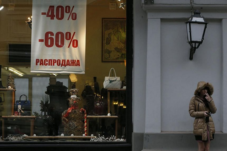 """The Russian government is preparing to launch an """"anti-crisis programme"""" to tackle the country's stalled economy and depreciating currency that will cost 1.375 trillion rubles (S$27.85 billion), deputy prime minister Igor Shuvalov said Wednesday. --"""