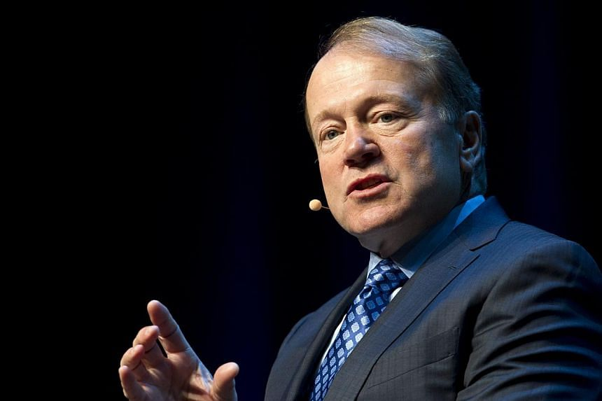 John Chambers, chief executive of tech giant Cisco, speaks in a panel discussion during the 2015 International Consumer Electronics Show (CES) in Las Vegas, Nevada on Jan 7, 2015. -- PHOTO: REUTERS