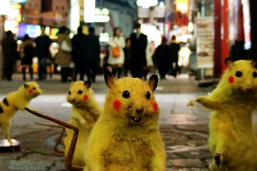 SUPER RAT (2011) by Chim Pom. -- PHOTO:PRUDENTIAL EYE AWARDS/COURTESY OF CHIM-POM AND MUJIN-TO PRODUCTION, TOKYO
