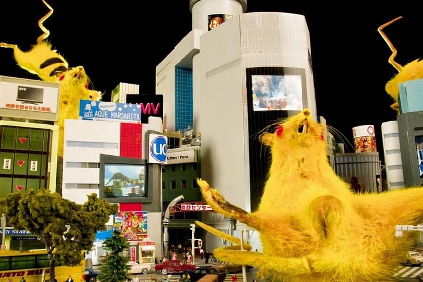 SUPER RAT (2008) by Chim Pom. -- PHOTO:PRUDENTIAL EYE AWARDS/COURTESY OF CHIM-POM AND MUJIN-TO PRODUCTION, TOKYO