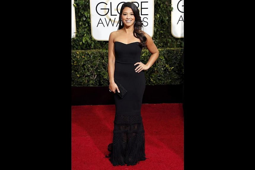 Gina Rodriguez's (above) portrayal of the titular character in Jane The Virgin (with Andrea Navedo) led to The Hollywood Reporter naming her The Next Big Thing. -- PHOTO: REUTERS