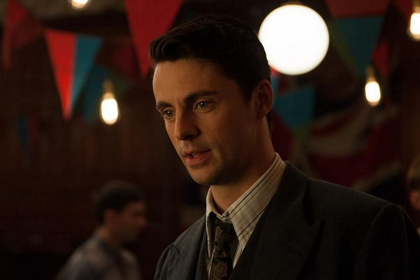 It is a pity the strong supporting cast, such as Matthew Goode as crypto- analyst Hugh Alexander (left), have little screen time in The Imitation Game.