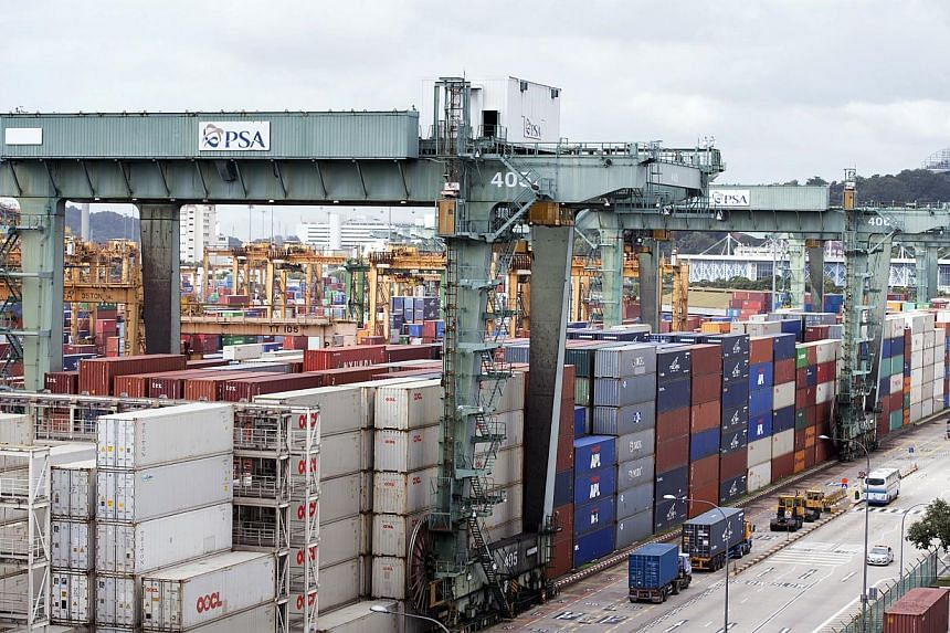 Containerisation, dating from 1955-56, is considered among key innovations of the 20th century. It helped propel Singapore to the top of the maritime sector, which contributes 6 per cent to 7 per cent to the nation's GDP. Next year also marks key mil